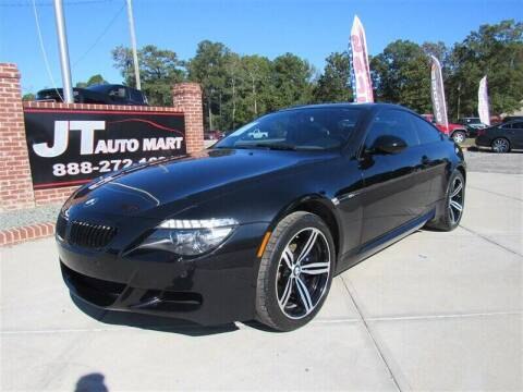2010 BMW M6 for sale at J T Auto Group in Sanford NC