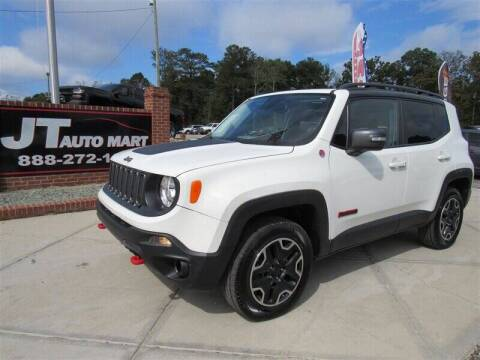 2017 Jeep Renegade for sale at J T Auto Group in Sanford NC