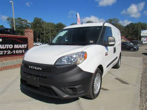 2019 RAM ProMaster City Cargo for sale at J T Auto Group in Sanford NC