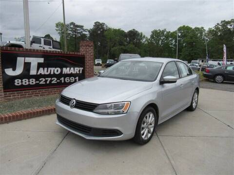 2011 Volkswagen Jetta for sale at J T Auto Group in Sanford NC