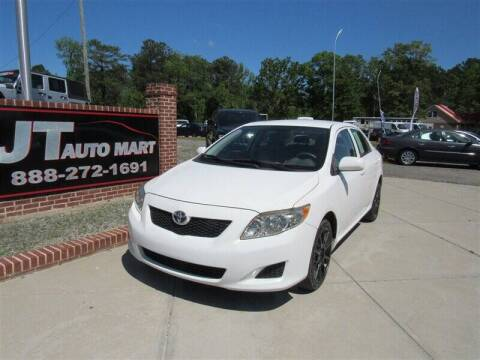 2009 Toyota Corolla for sale at J T Auto Group in Sanford NC