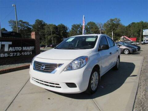 2014 Nissan Versa for sale at J T Auto Group in Sanford NC