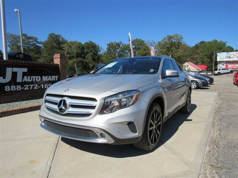 2015 Mercedes-Benz GLA for sale at J T Auto Group in Sanford NC