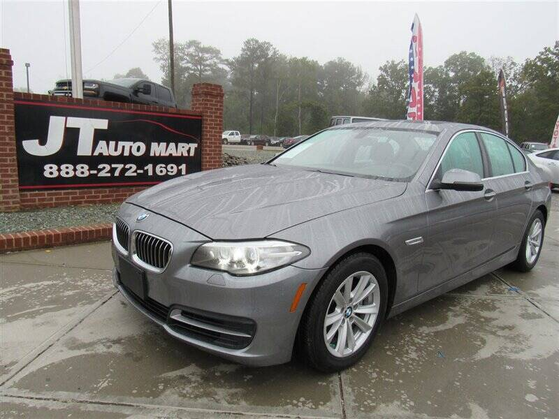 2014 BMW 5 Series for sale at J T Auto Group in Sanford NC