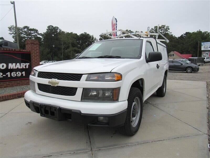 2010 Chevrolet Colorado for sale at J T Auto Group in Sanford NC