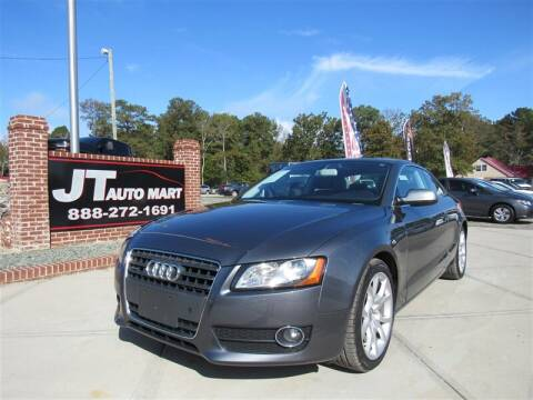 2012 Audi A5 for sale at J T Auto Group in Sanford NC