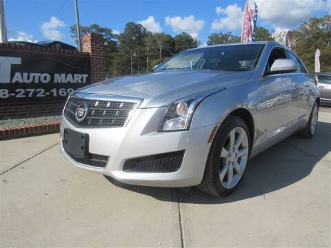 2014 Cadillac ATS for sale at J T Auto Group in Sanford NC