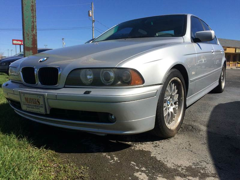 2003 BMW 5 Series for sale at Maroun's Motors, Inc in Boardman OH