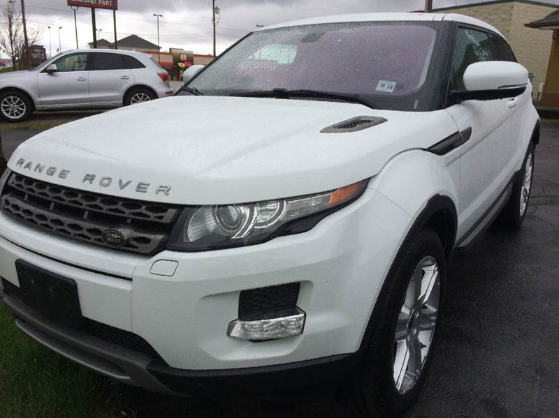 2013 Land Rover Range Rover Evoque Coupe for sale at Maroun's Motors, Inc in Boardman OH