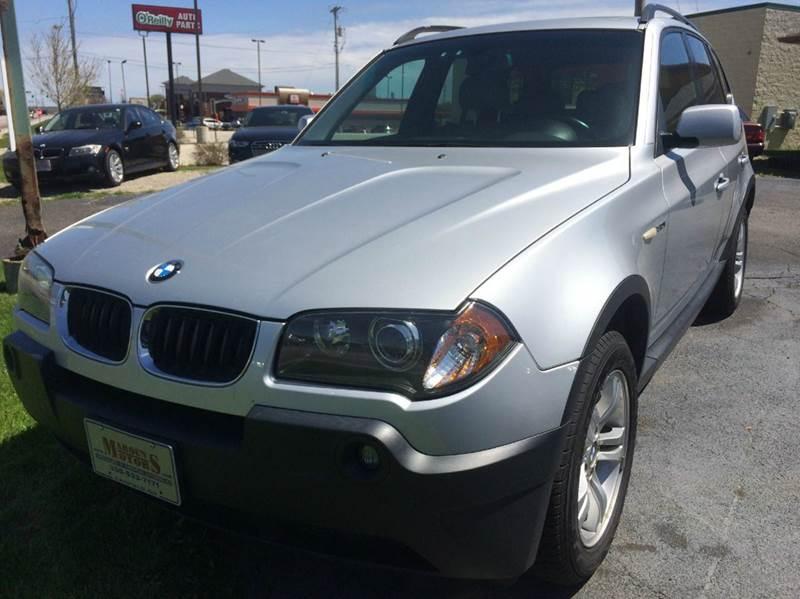 2005 BMW X3 for sale at Maroun's Motors, Inc in Boardman OH