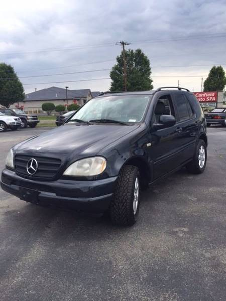 2001 Mercedes-Benz M-Class AWD ML 430 4MATIC 4dr SUV - Canfield OH