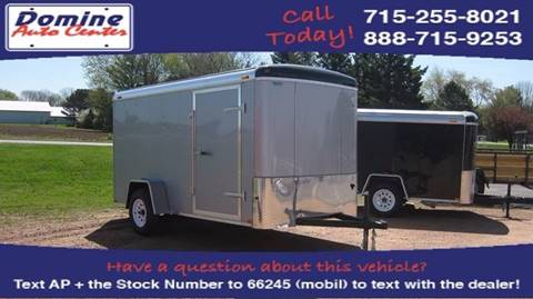 2018 Atlas Atlas 6x12 2990# Enclosed Ramp