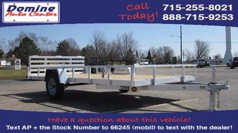 2018 Quality Steel 82x14 Aluminum Bi-Fold 2990# for sale in Loyal, WI