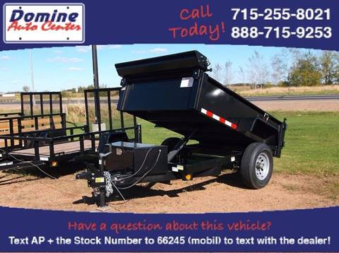 2018 Quality Steel 5x8 6000# Automatic Dump