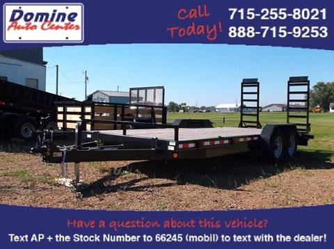 2018 Quality Steel 83x20 Tandem 14k Equipment for sale in Loyal, WI