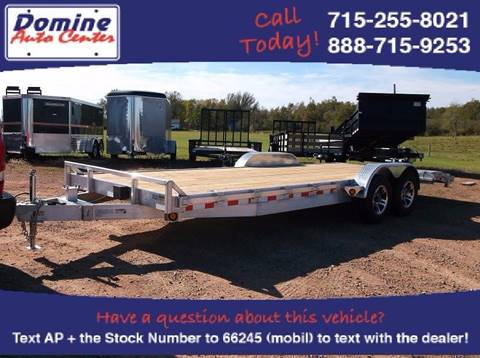 2018 Quality Steel 10K 83x22 Aluminum Car Hauler