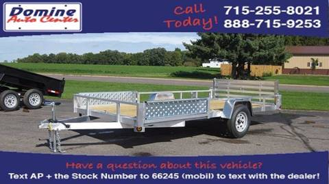 2018 Quality Steel 82x14 Aluminum Side Ramp for sale in Loyal, WI