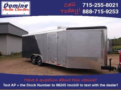 2018 Atlas 8.5X25 Enclosed Tandem 10000#