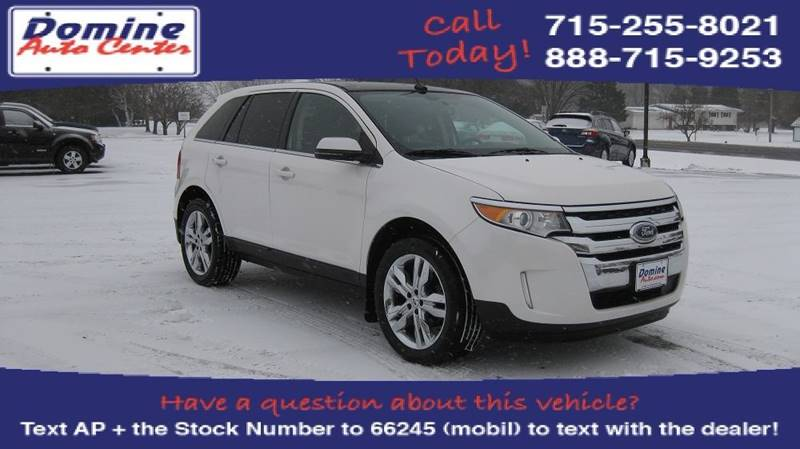 Ford Edge Awd Limited Dr Crossover Loyal Wi