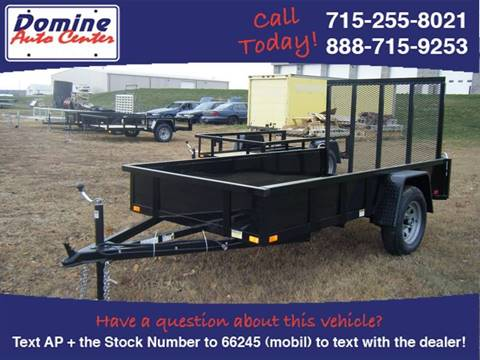 2018 Quality Steel 6x10 Solid Side 2,990# for sale in Loyal, WI