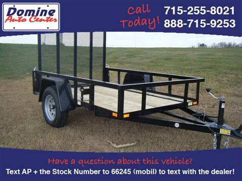2018 Quality Steel 5x10 2990# Landscape Trailer for sale in Loyal, WI