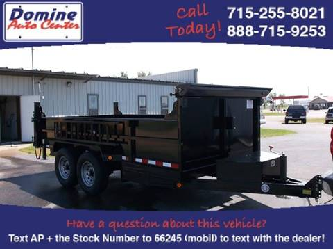2018 Quality Steel 83x14 14,000# Tandem Dump for sale in Loyal, WI