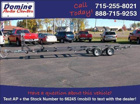 2013 Trophy Pontoon Lift Trailer #700