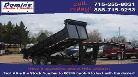 2014 Quality Steel 14000# Tandem Gooseneck 83x16