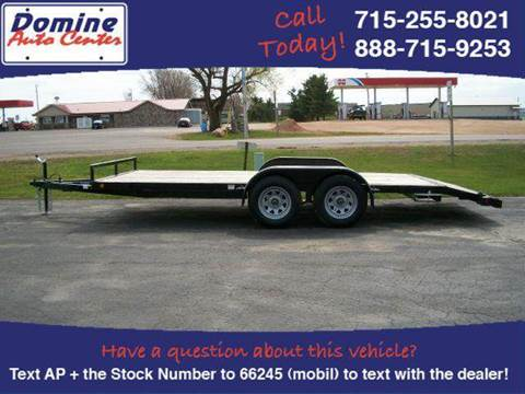 2014 Quality Steel Car Hauler 7000# Tandem 18ft #