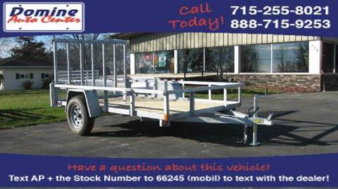 2015 Quality Steel 2990# 74x10 Galvanized Utility