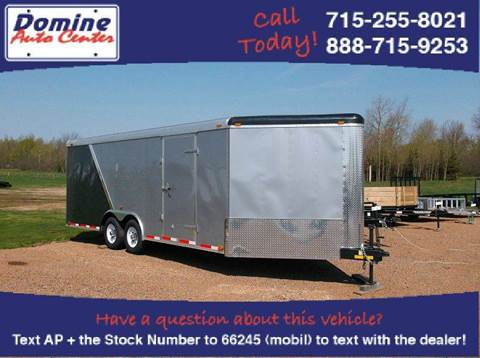 2015 Atlas 8.5X25 Enclosed Tandem 10000#