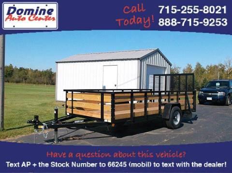 2016 Quality Steel 74x14 5000# High Side Woody Tr