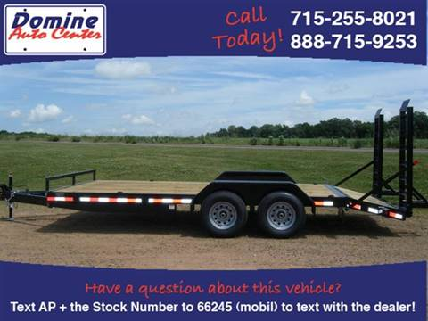 2019 Quality Steel 83x24 Tandem 14k Equipment for sale in Loyal, WI