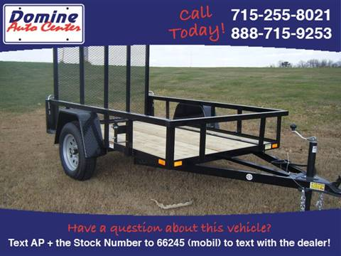 2016 Quality Steel 5x8 2990# Landscape Trailer