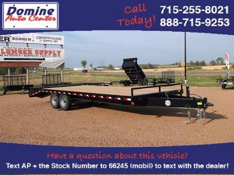 2016 Quality Steel 14000# 25ft Deckover Equipment