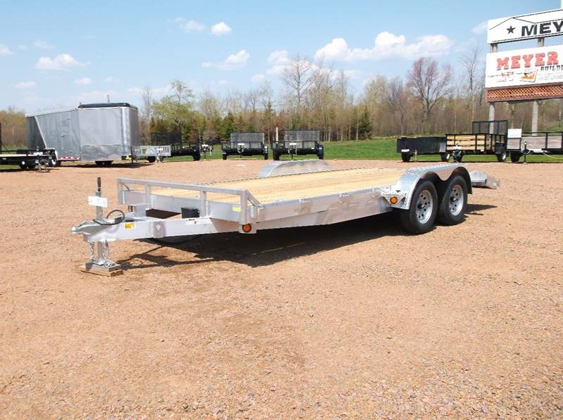 2016 Quality Steel 10K 83x22 Aluminum Car Hauler #415 - Loyal WI