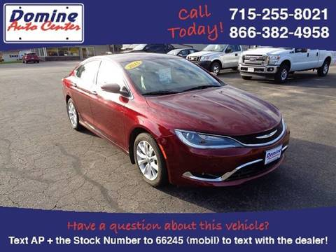 2015 Chrysler 200 for sale in Loyal, WI