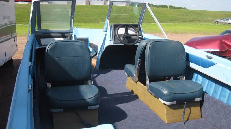 1975 Chrysler 15ft Open Bow Runabout 75HP - Loyal WI