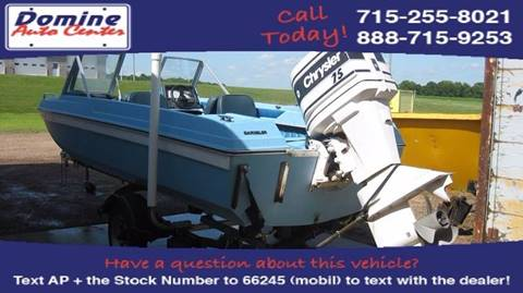 1975 Chrysler 15ft Open Bow Runabout
