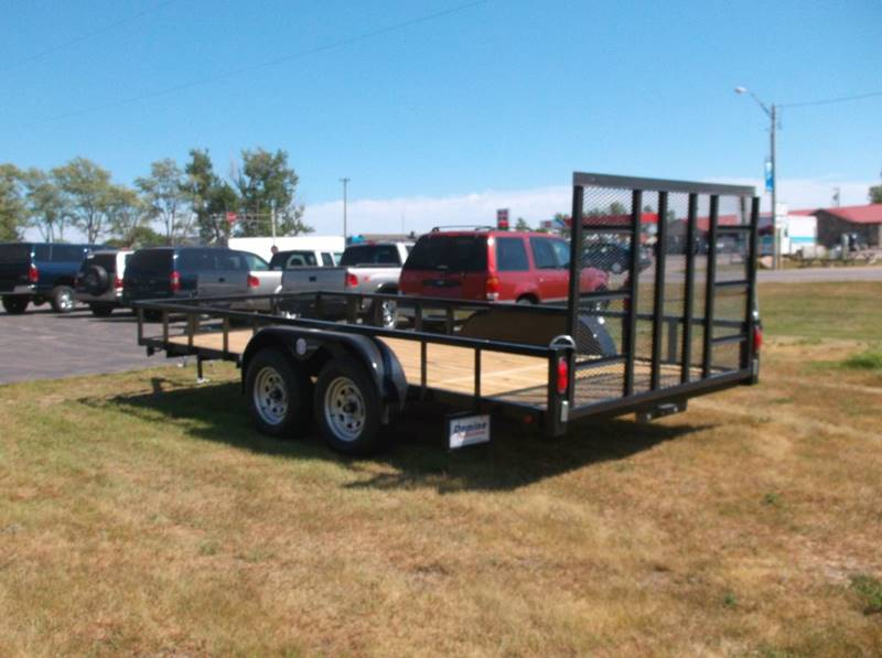 2016 Quality Steel 82x16 7000# Tandem Landscape #433 - Loyal WI