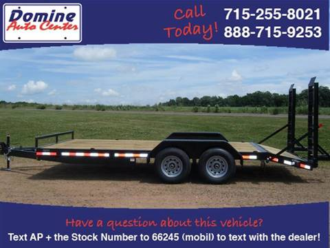 2016 Quality Steel 83x20 Tandem 10k Equipment