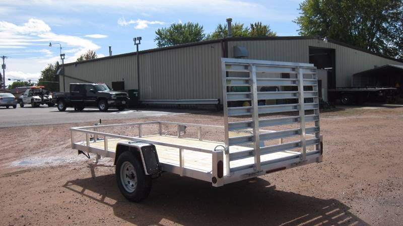2016 Quality Steel 62x10 2990# Aluminum Landscape #439 - Loyal WI
