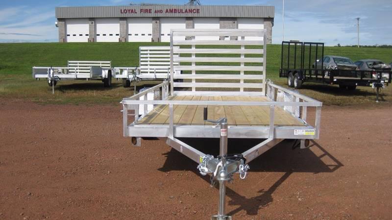 2016 Quality Steel 62x10 2990# Aluminum Landscape #439 - Loyal WI