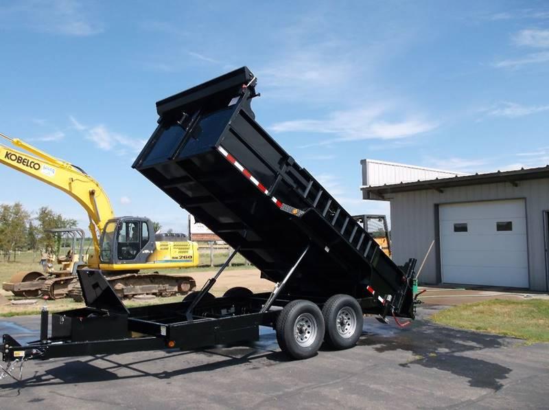 2017 Quality Steel 83x14 14k Dump Tandem #456 - Loyal WI