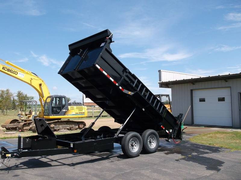 2017 Quality Steel 83x14 14k Dump Tandem #458 - Loyal WI