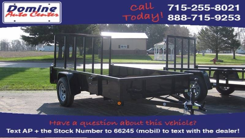 2017 Quality Steel 6x10 2900# Solid Side AN SA #463 - Loyal WI