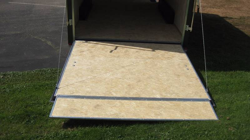 2017 Atlas 8x18 7K Tandem Enclosed Ramp #826 - Loyal WI