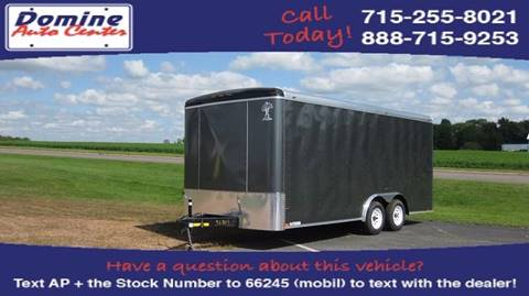 2017 Atlas 8x18 7K Tandem Enclosed Ramp
