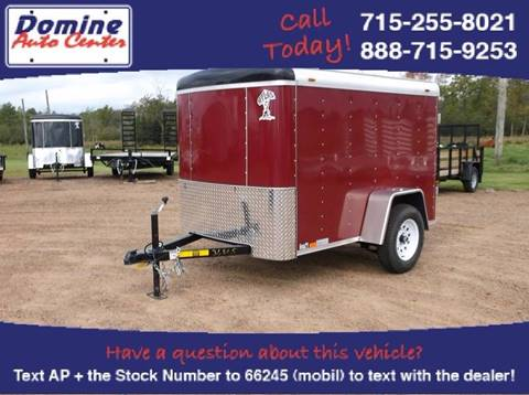 2017 Atlas 5x8 2990# Enclosed Trailer