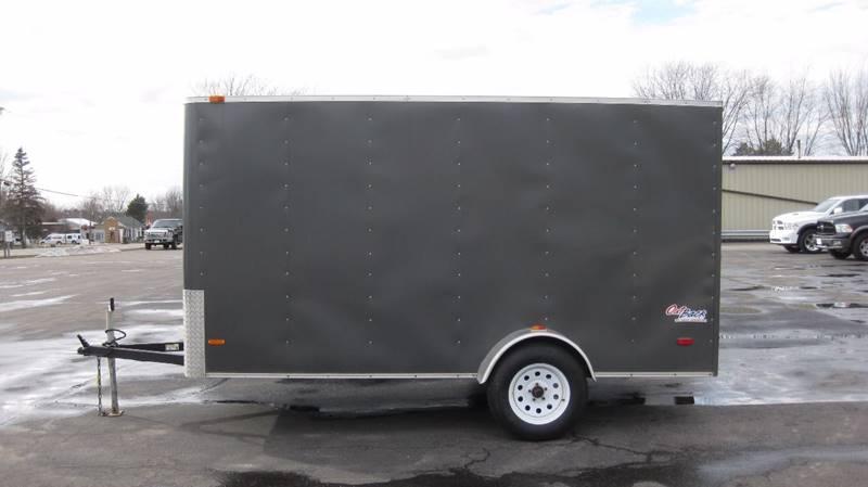 2013 Pace American Enclosed 6x12 2990# Ramp Door #909 - Loyal WI